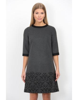 Платье Emka Fashion PL-415-burberry